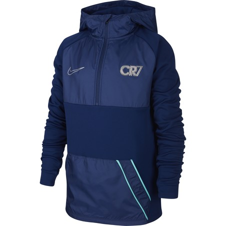 Sweat zippé Nike CR7 bleu 2019/20