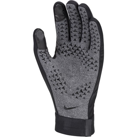 Gants joueurs Nike Hyperwarm Air gris 2019/20