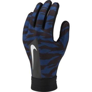 Gants joueurs junior Nike Academy camouflage bleu 2019/20