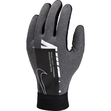 Gants joueurs junior Nike Hyperwarm Air gris 2019/20