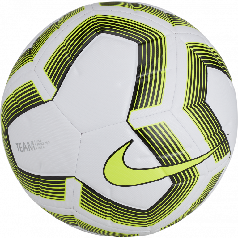 Ballon Nike Strike Pro Team blanc jaune