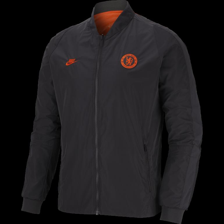 Veste bomber Chelsea noir orange 2019/20