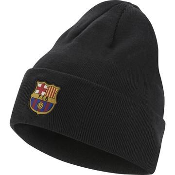 Bonnet FC Barcelone noir vert 2019/20