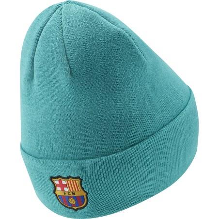 Bonnet FC Barcelone bleu vert 2019/20