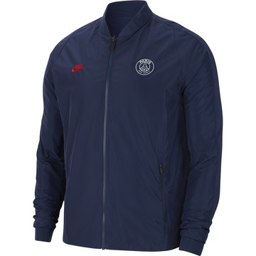 Veste bomber PSG réversible bleu rouge 2019/20
