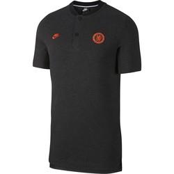 Polo Chelsea noir orange 2019/20