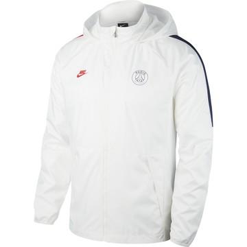 Veste imperméable PSG blanc 2019/20