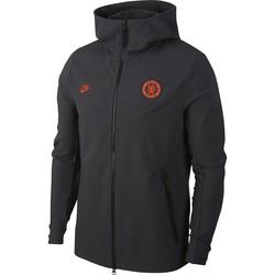 Veste survêtement Chelsea Tech Fleece noir orange 2019/20