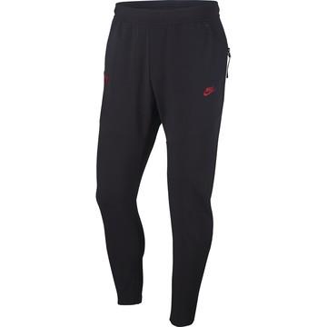Pantalon survêtement AS Roma Tech Fleece noir 2019/20
