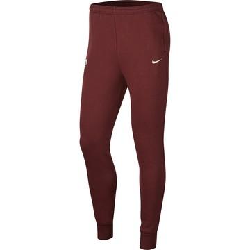 Pantalon survêtement AS Roma GFA Fleece rouge 2019/20