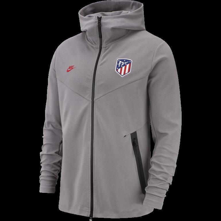 sortie de gros super pas cher ventes spéciales Veste survêtement Atlético Madrid Tech Fleece gris 2019/20