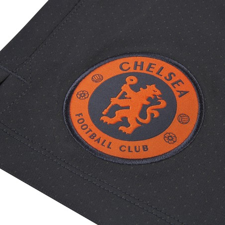 Short entraînement Chelsea noir orange 2019/20