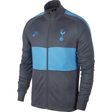 Veste survêtement Tottenham gris bleu 2019/20