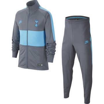 Ensemble survêtement junior Tottenham gris bleu 2019/20