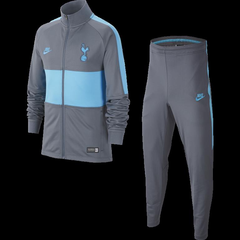 Ensemble survêtement junior Tottenham gris bleu 2019/20