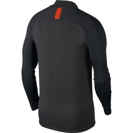 Sweat zippé Chelsea noir orange 2019/20