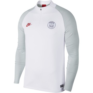 Sweat zippé PSG blanc 2019/20
