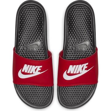 Sandales Nike Benassi rouge 2018/19