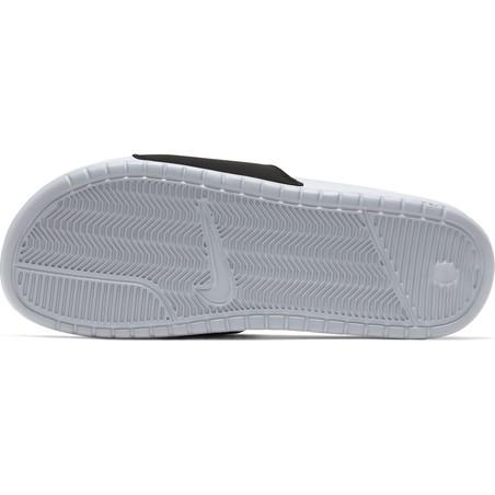 Sandales Nike Benassi gris vert