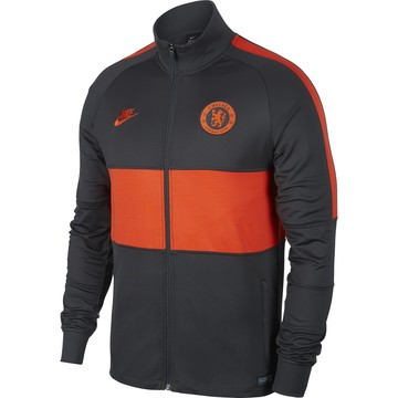 Veste survêtement Chelsea noir orange 2019/20