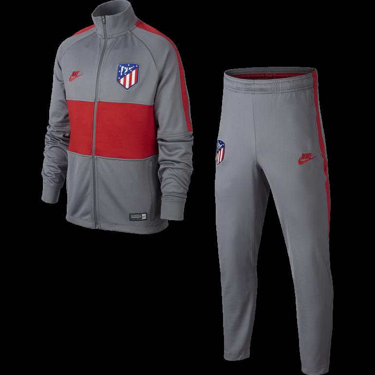 Ensemble survêtement junior Atlético Madrid gris rouge 2019/20