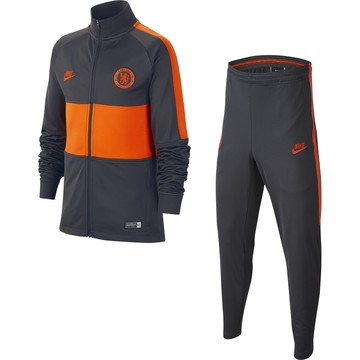 Ensemble survêtement junior Chelsea noir orange 2019/20