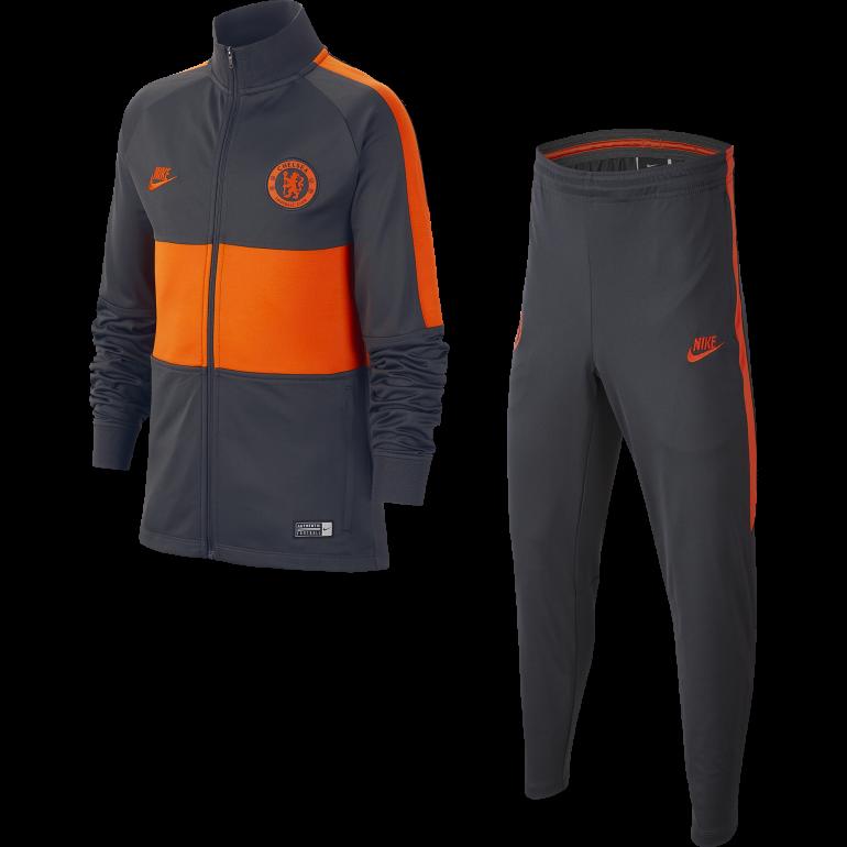 Ensemble survêtement junior Chelsea noir orange 2019/20