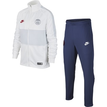Ensemble survêtement junior PSG blanc bleu 2019/20