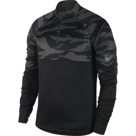 Sweat zippé Nike ThermaShield noir