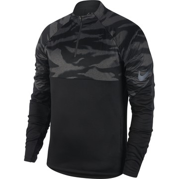Sweat zippé Nike ThermaShield noir