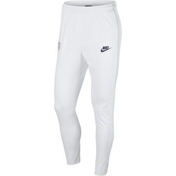 Pantalon survêtement PSG Strike blanc 2019/20