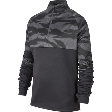 Sweat zippé junior Nike ThermaShield noir