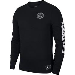 T-shirt manches longues PSG Jordan noir 2019/20