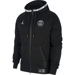 Veste survêtement PSG Jordan Tech Fleece noir 2019/20
