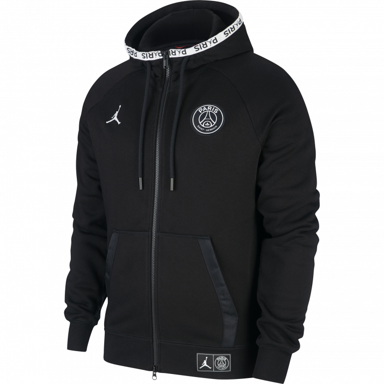 pick up differently great deals Veste survêtement PSG Jordan Tech Fleece noir 2019/20