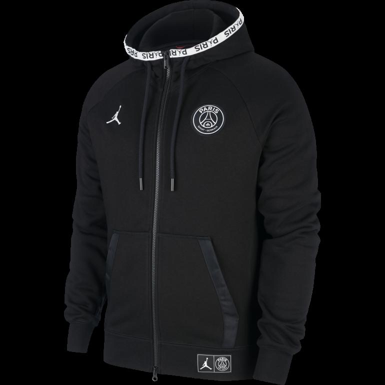 outlet best wholesaler huge discount Veste survêtement PSG Jordan Tech Fleece noir 2019/20