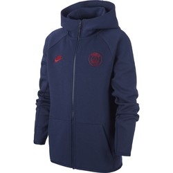 Veste survêtement junior PSG Tech Fleece bleu 2019/20