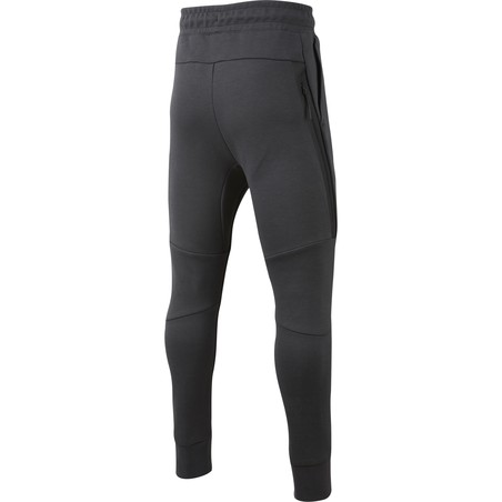 Pantalon survêtement junior Chelsea Tech Fleece noir orange 2019/20