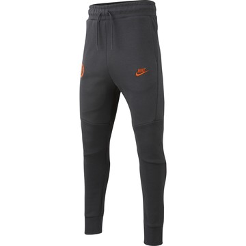 Pantalon survêtement junior Chelsea Tech Fleece noir orange 2019/20