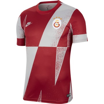 Maillot avant match Galatasaray rouge gris 2019/20