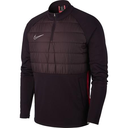 Sweat zippé Nike Dir-FIT Academy rouge 2019/20