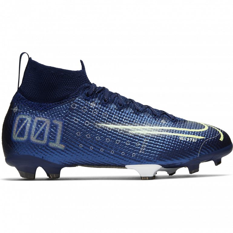 Mercurial Superfly VII Elite FG bleu
