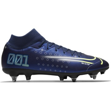 Mercurial Superly VII Academy SG-Pro AC bleu