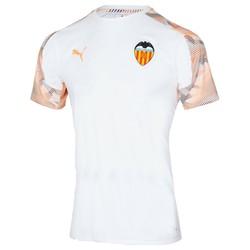 Maillot entraînement Valence blanc orange 2019/20