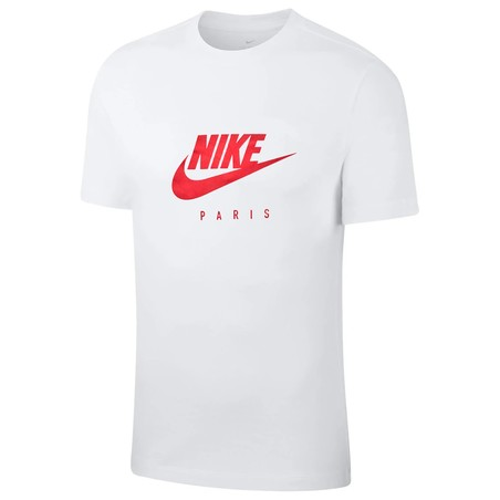 T-shirt junior PSG blanc rouge 2019/20