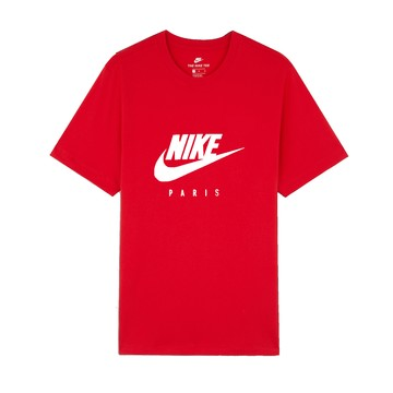 T-shirt junior PSG rouge blanc 2019/20