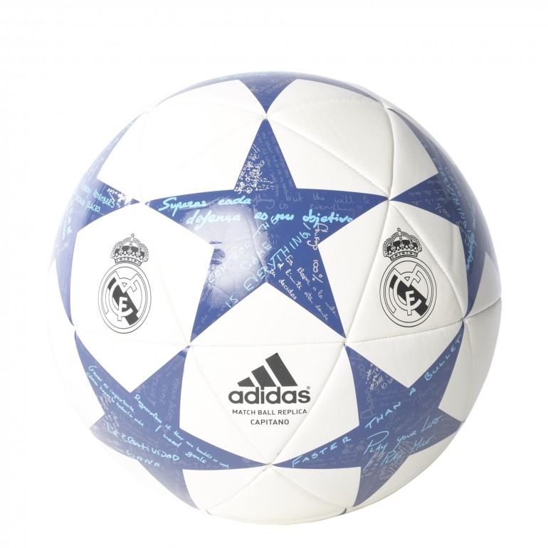 Ballon FINALE 16 Real Madrid blanc