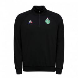 Sweat zippé junior ASSE noir 2019/20