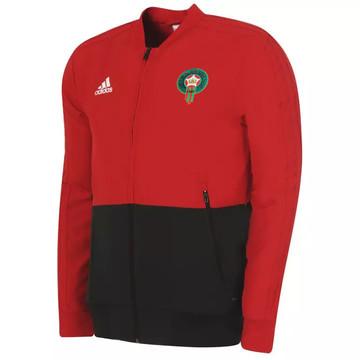 Veste survêtement junior Maroc rouge 2019/20