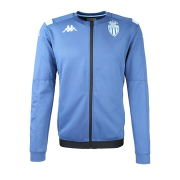 Veste survêtement AS Monaco bleu 2019/20